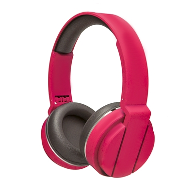 Ver X One AFC1000F Auriculares plegables mic Fucsia