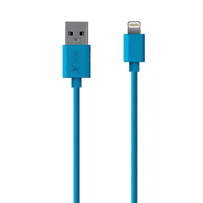 X One CPL1000BL Cable Lightning plano Azul