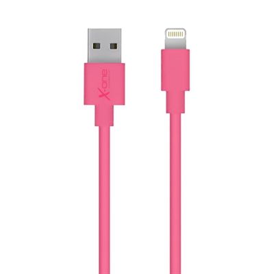 X One CPL1000F Cable Lightning plano Fucsia