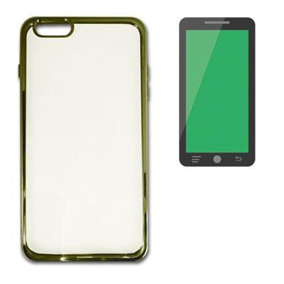 X One Carcasa Transparente Metal Iphone 6 Plus Dor