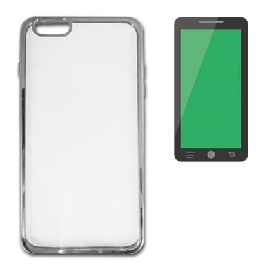 Ver X One Carcasa Transparente Metal iPhone 6 Plus Pla