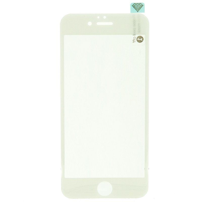 X One Cristal Templado 3D iPhone 6 Blanco