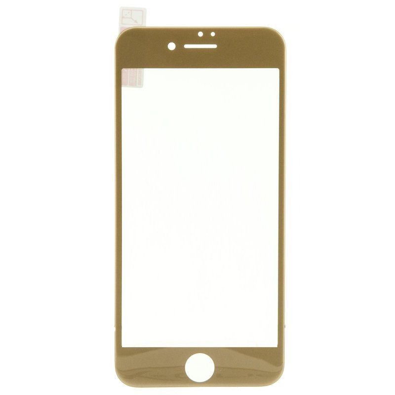 Ver X One Cristal Templado 3D iPhone 7 Dorado