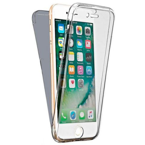 Ver X One Funda Carcasa 360 iPhone 6 Plus Plateado