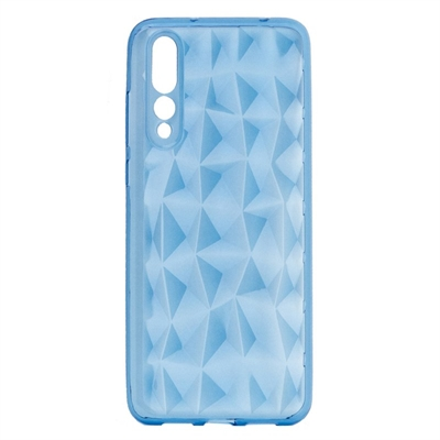 X One Funda Diamante 3D Huawei P20 Plus Azul