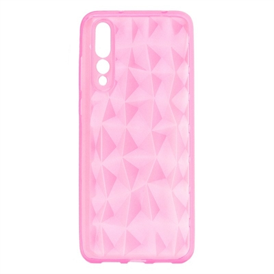 X One Funda Diamante 3D Huawei P20 Plus Rosa