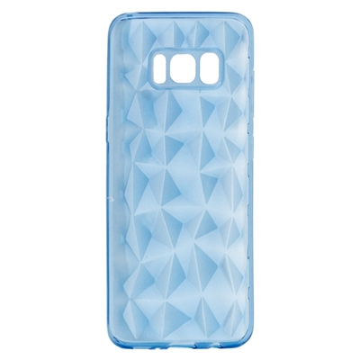 X One Funda Diamante 3D Samsung S8 Azul
