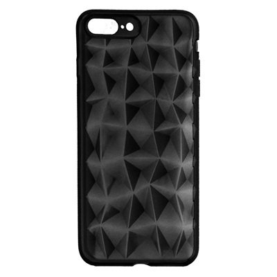 X One Funda Diamante 3D iPhone 7 8 Plus Negro