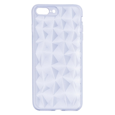 X One Funda Diamante 3D iPhone 7 8 Plus Transparen