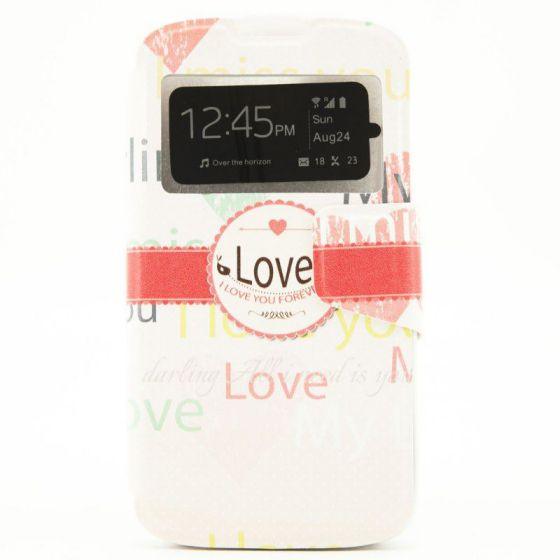 X One Funda Libro LG K4 Love Forever