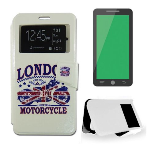 Ver X One Funda Libro Samsung S6 Edge Plus Motorcycle