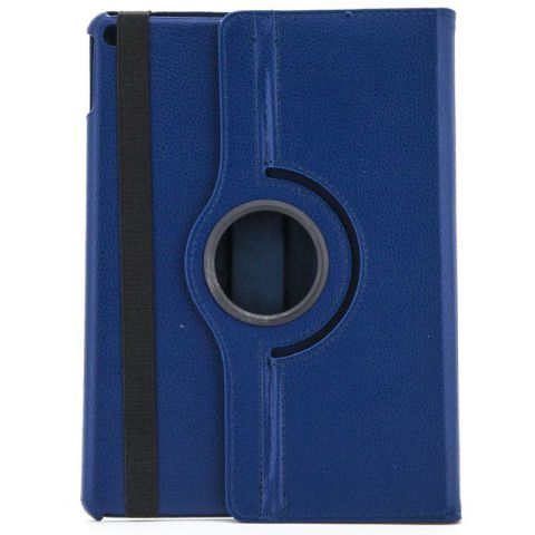 X One Funda Piel Rotacion iPad 6 Air 2 Azul