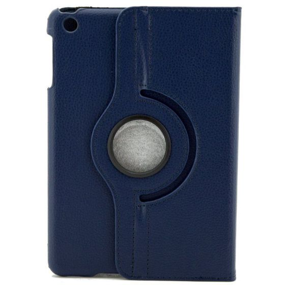 X One Funda Piel Rotacion iPad Mini 23 Azul