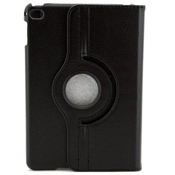 X One Funda Piel Rotacion iPad Mini 4 Negro
