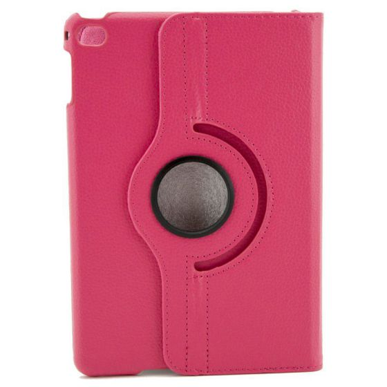 X One Funda Piel Rotacion iPad Mini 4 Rosa