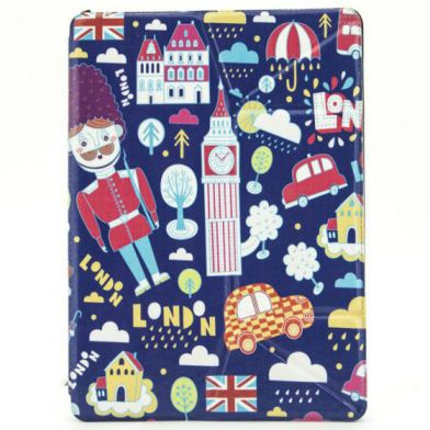X One Funda Slim iPad 5 Air London Dibujos