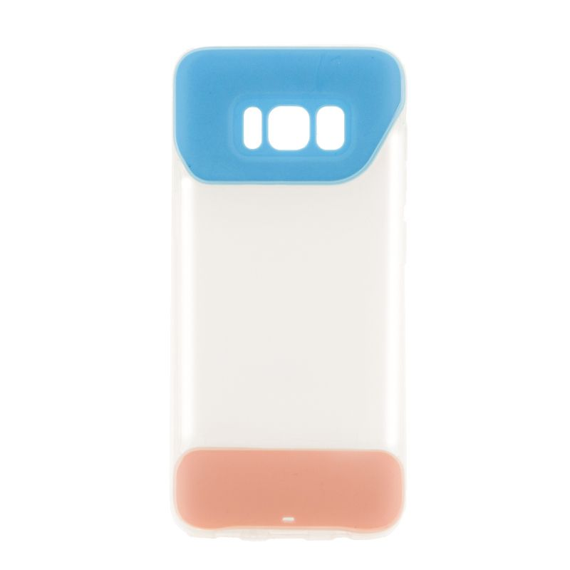 Ver X One Funda TPU 2 Color Samsung S8 Azul
