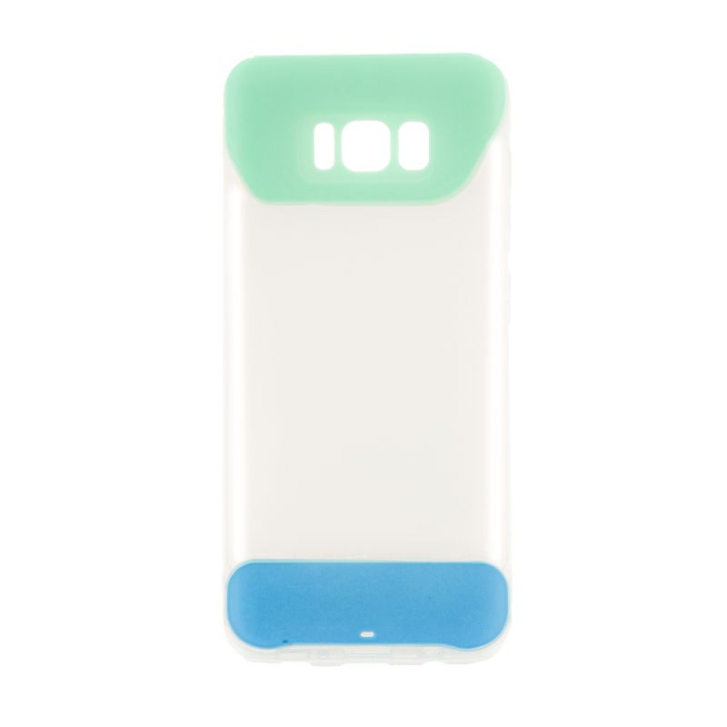 Ver X One Funda TPU 2 Color Samsung S8 Verde