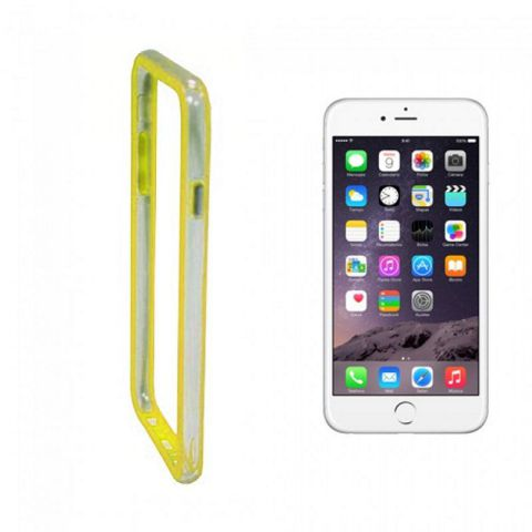 Ver X One Funda TPU Bumper iPhone 7 Plus Amarillo