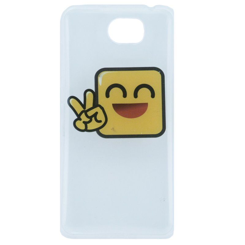 X One Funda TPU Huawei Y5 II Happy Emote