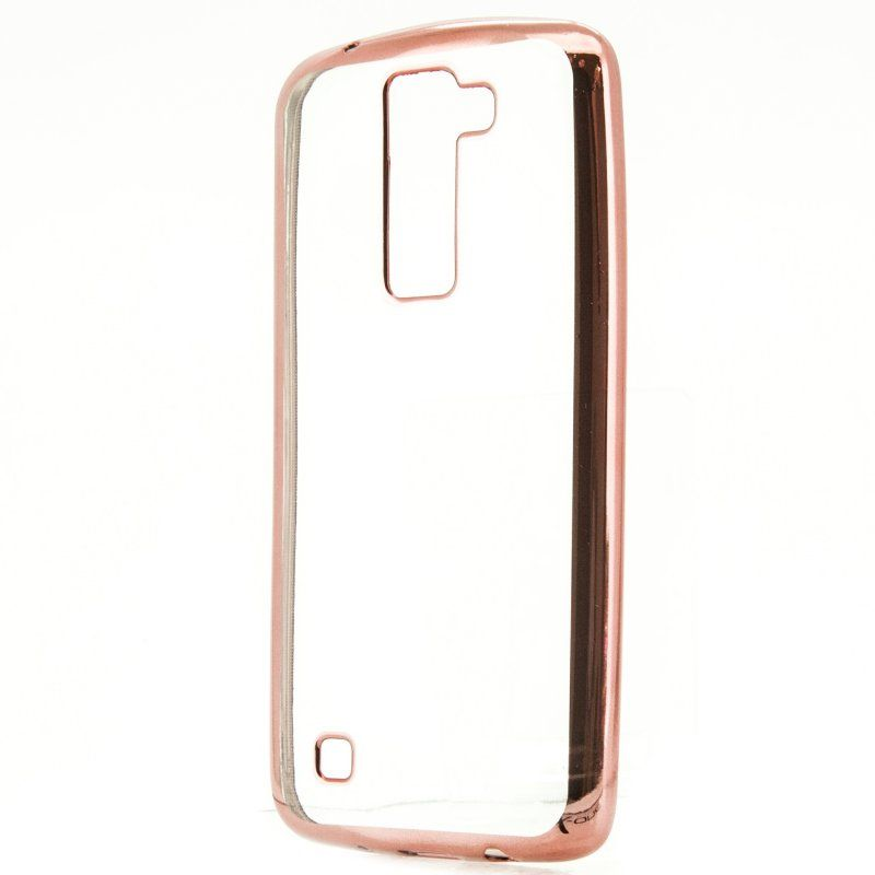 X One Funda TPU Metal LG K8 Rosa