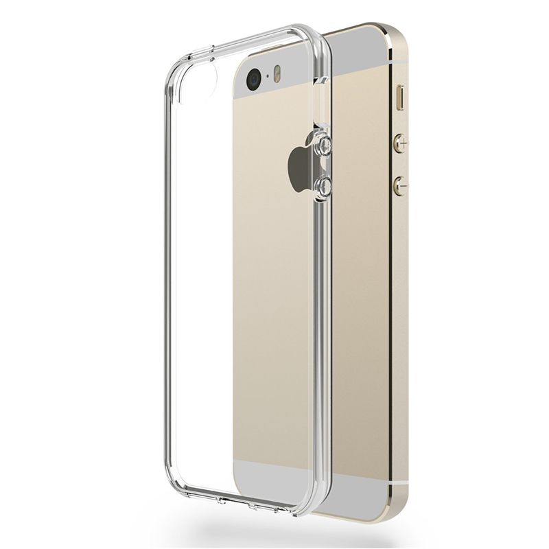 Ver X One Funda TPU iPhone 5 SE Transparente