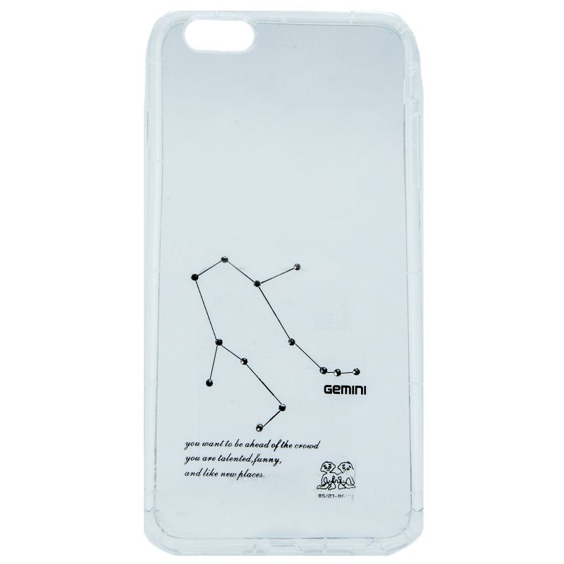Ver X One Funda TPU iPhone 6 Plus Geminis