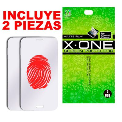 Ver X One Protector Antihuella 2 en 1 iPhone 55