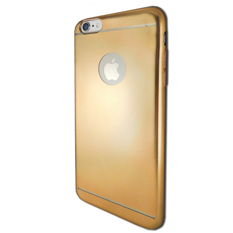 Ver X One TPU Aluminio iPhone 6 Plus Dorado