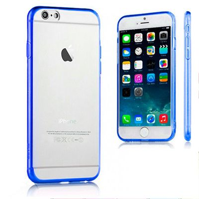 Ver X One TPU Crystal iPhone 6 Plus Azul
