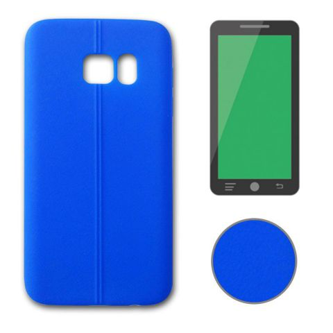 Ver X One TPU Leather Samsung S7 Edge Azul