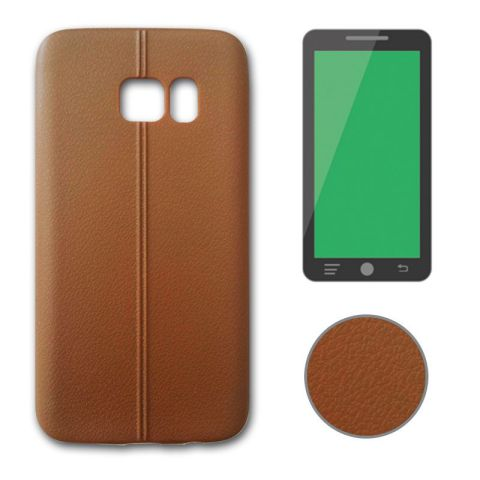Ver X One TPU Leather Samsung S7 Marron