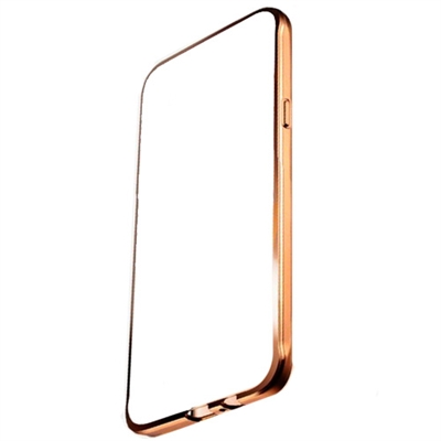 Ver X One TPU Transparente Metal iPhone 6 Dorado