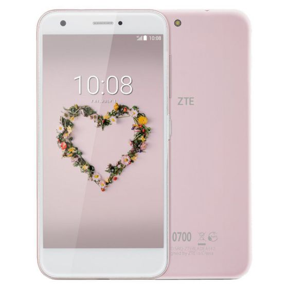 Ver ZTE Blade A512 4G 16GB Rosa Color blanco