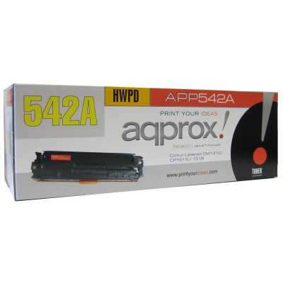 Approx 542a Cartucho Toner Amarillo Compatible Hp