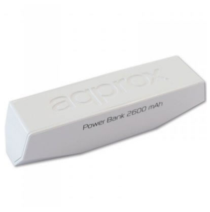 Ver approx APPPB26EVW Pocket Bank 2600 mAh Blanco