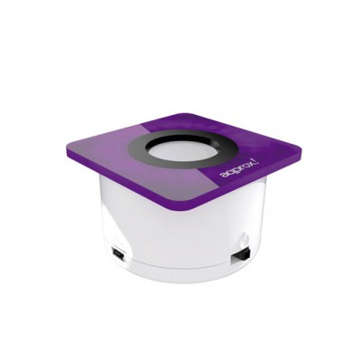 Approx Altavoz Mini Portatil 3w Goplay Blanpurpura
