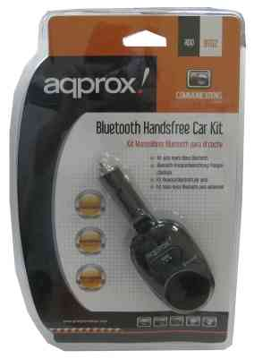 Approx Appbt02 Manos Libres Coche Bluetooth 10mts