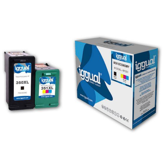 iggual Box Economy HP 350XL351XL