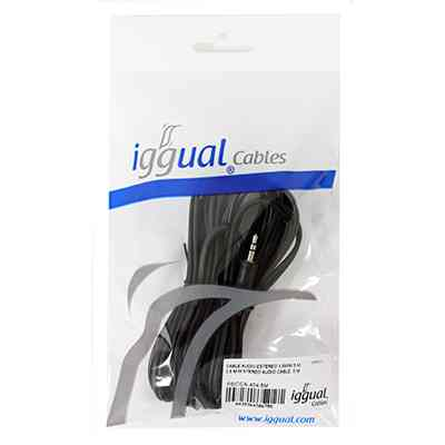 Iggual Cable Audio Estereo 35mm 5 Metros
