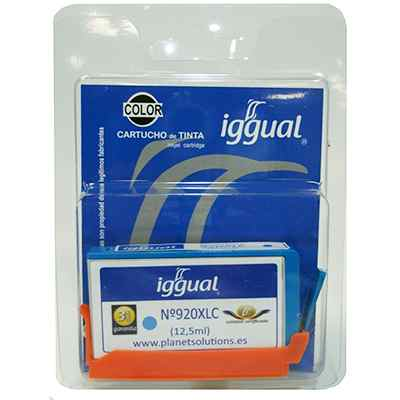Iggual Cartucho Reciclado Cyan Hp Cd972a