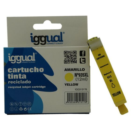 Ver iggual Cartucho Reciclado HP N 935XL C2P26AE Am