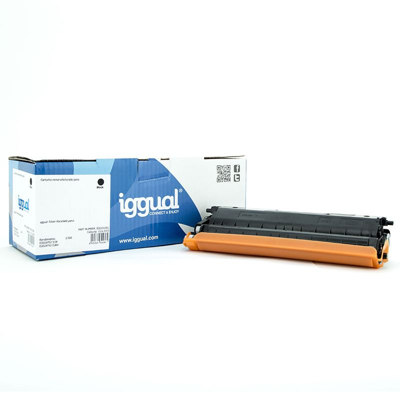iggual Toner Reciclado Brother TN 321BK Negro