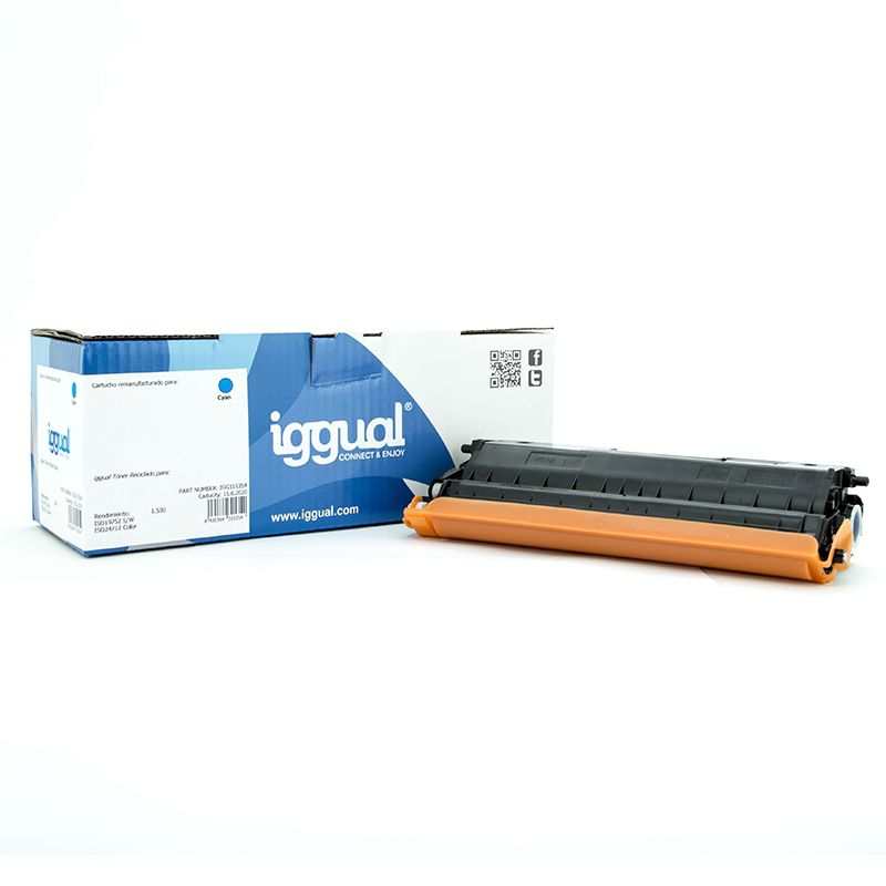 iggual Toner Reciclado Brother TN 321C Cian