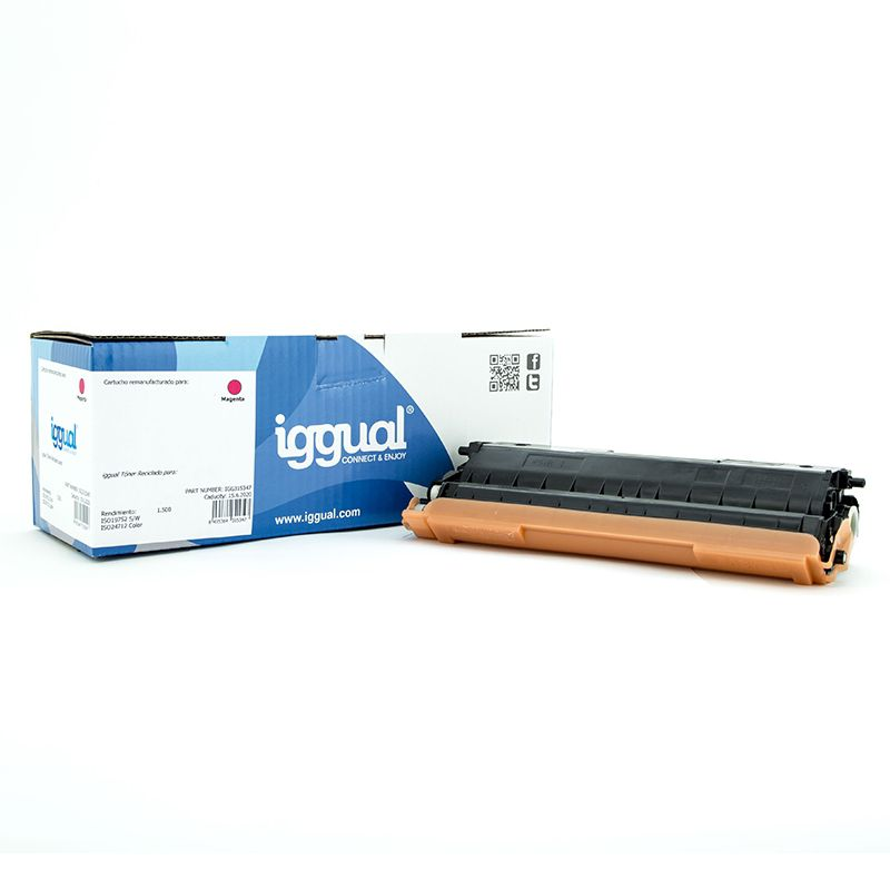 iggual Toner Reciclado Brother TN 321M Magenta