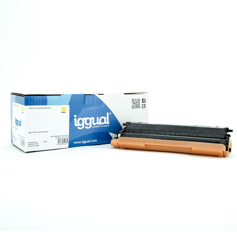 Ver iggual Toner Reciclado Brother TN 321Y Amarillo