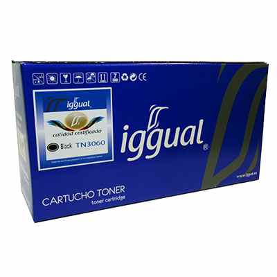 iggual Toner Reciclado Negro Brother TN3060