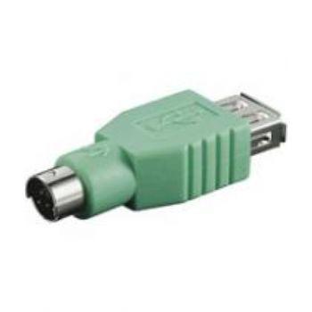 ADAPTADOR USB A HEMBRA -MINI DIN 6 MACHO