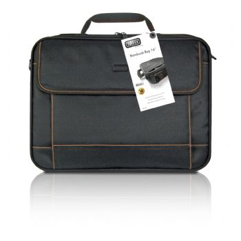 Bolsa Portatil Sweex 16 Negra Borde Naranja