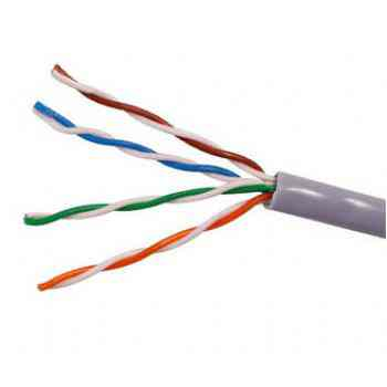 Cable Equip Bobina Rj45 Utp Cat5  Solido 305m